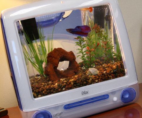 Retro Mac Aquarium