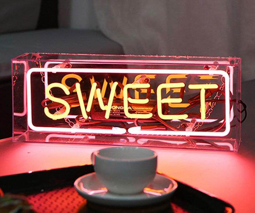 Sweet Retro Neon Sign