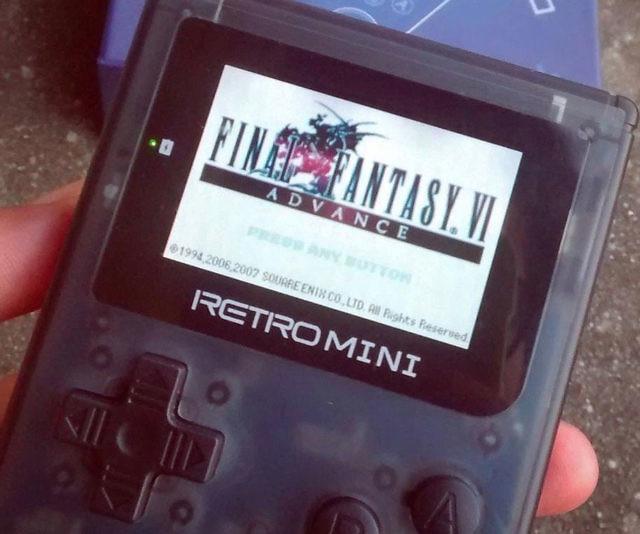 RetroMini Handheld Gaming Console