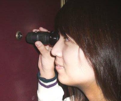 Reverse Peephole Viewer