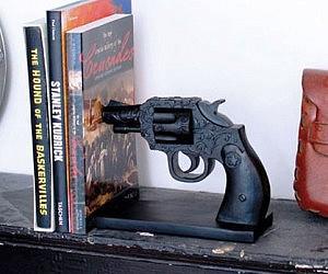 Revolver Bookend