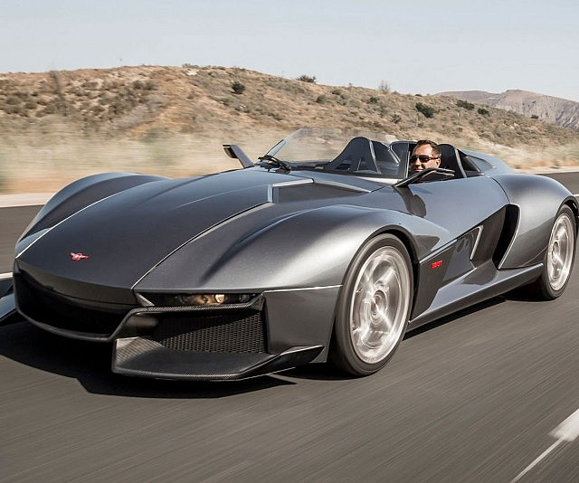 Rezvani Beast Carbon Fiber Supercar: Rezvani Beast Speedster