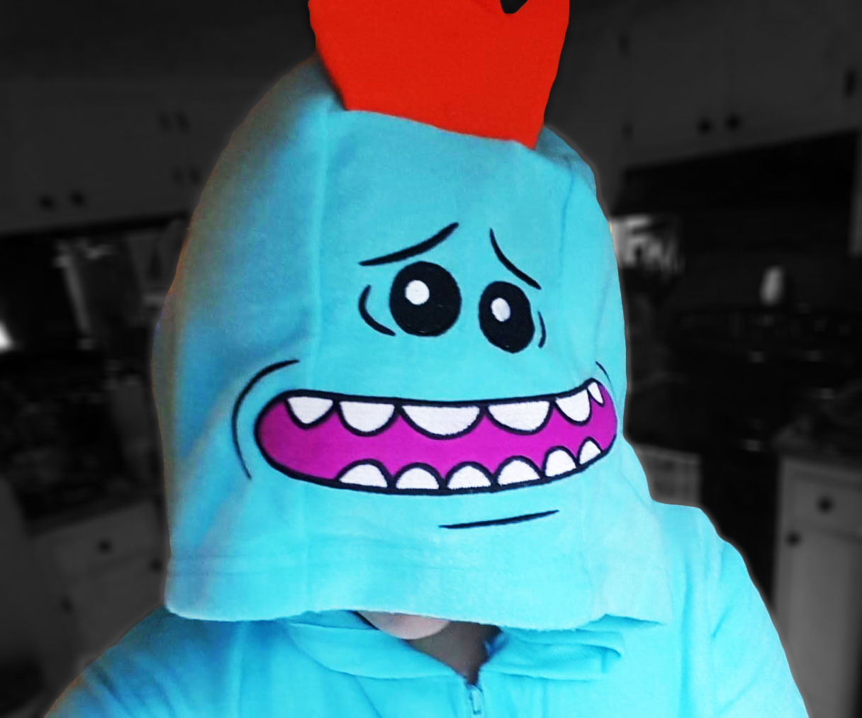 Rick & Morty Mr. Meeseeks Onesie