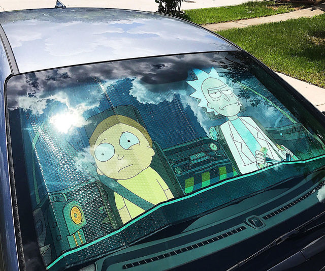 Rick And Morty Windshield Sunshade 6892a0ab4dd