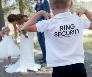 Fake Wedding Bands For Ring Bearer 80 Ideal Ring Bearer Ring Security