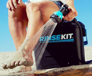 The Portable Pressurized Shower