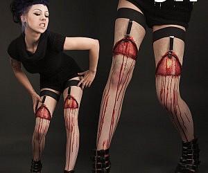 Ripped Flesh Garters
