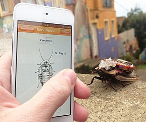 Smartphone Controlled RoboRoach