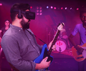 Virtual Reality Rock Band ...