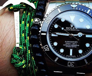 Black Dial Stainless Steel Rolex