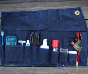Roll Up Toiletries Bag