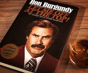 Ron Burgundy Autobiography
