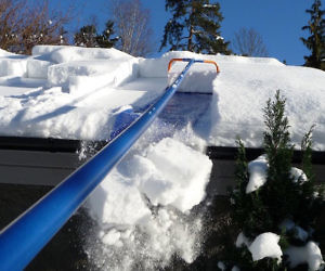 Roof Snow Removal System