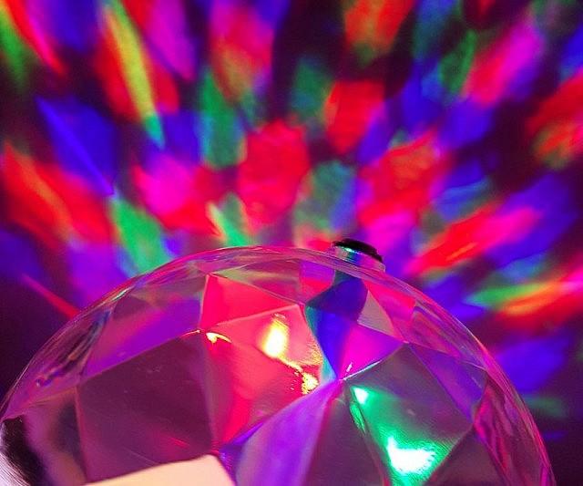LED Strobe Light - Bedroom disco lights