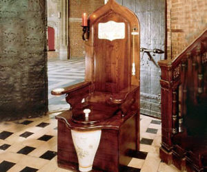 Royal Toilet Throne