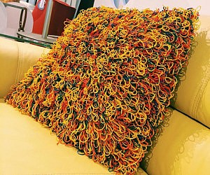 Rubber Band Pillow