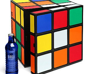 Rubik?s Cube Mini Fridge