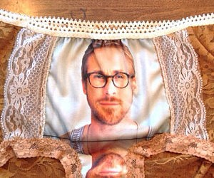 Ryan Gosling's Face Panties