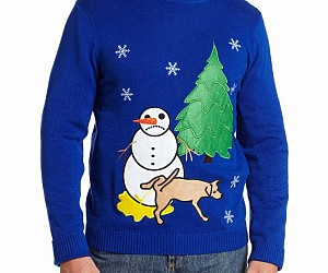 Sad Snowman Sweater