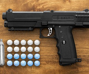 Non Lethal Salt Self Defense Gun