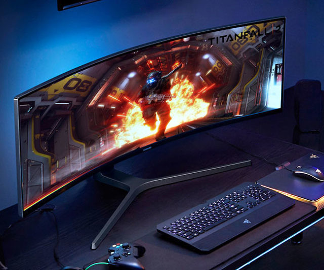 Samsung Curved 49 Inch Gaming Monitor