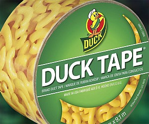 Flat Pocket Sized Duct Tape - 22 insanely useful things can duct tape