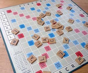 Scrabble Rug