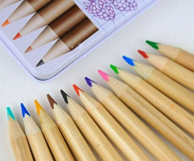Scratch And Sniff Coloring Pencils