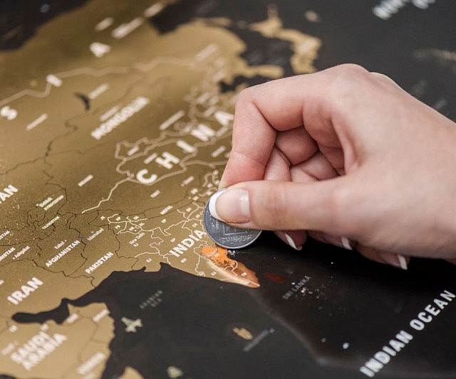 Off World Map - Scratch off us states maps for class with pencil