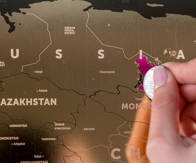 Off World Map - Scratch off us state maps with pencil
