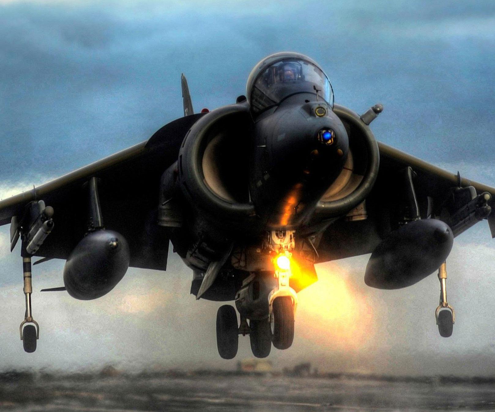 Sea Harrier Fighter Jet