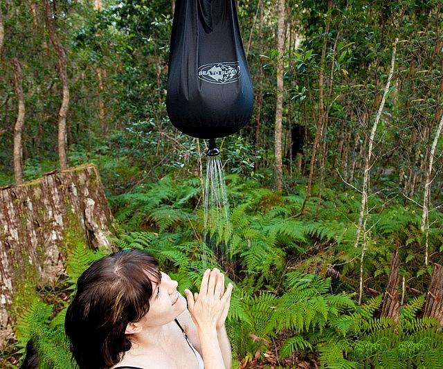 Amazing Portable Camping Shower Bag Amazing Ideas