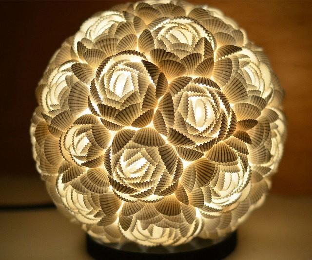 seashells lamp