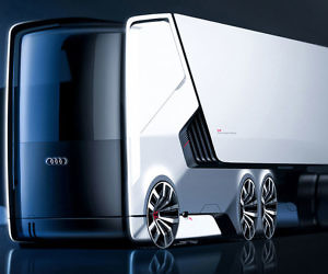 Electric Self Driving Truck