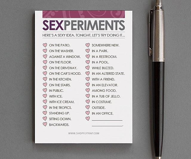 Exsperimental sex