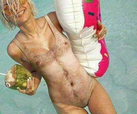 Man Chest Swimsuit