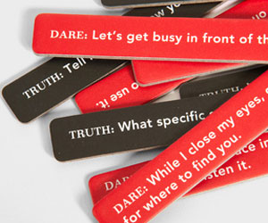 Sexy truth or dare sticks
