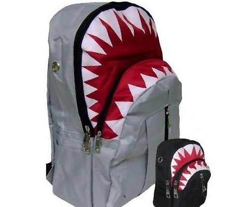 White Shark Bookbag