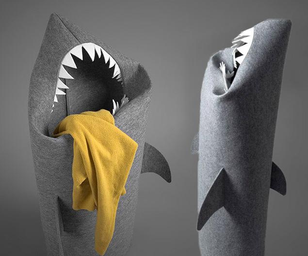 Shark Laundry Basket