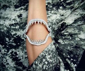 Shark Jaw Bracelet