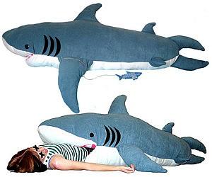 Giant Stuffed Shark shark sleeping bag