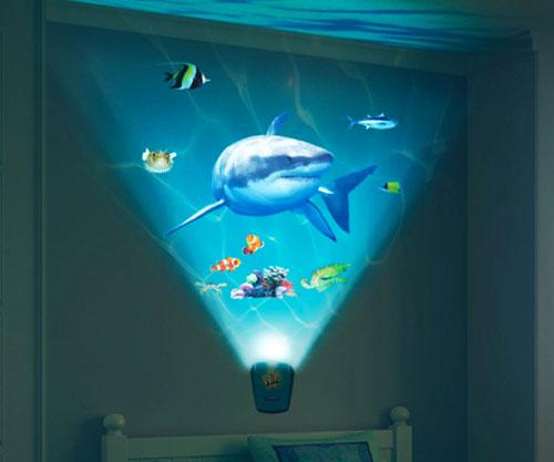 Shark Wall Projector