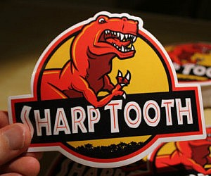 Sharp Tooth Sticker