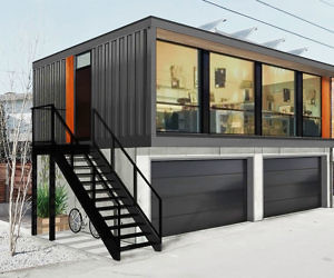 Pre Fabricated Shipping Container Home