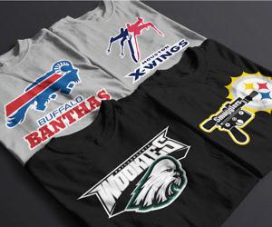 Star Wars Football Mashup T Shirts