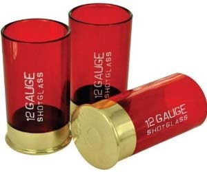 Shotgun 12 Gauge Shot Glas...