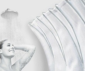 Shower Curtain Space Extender