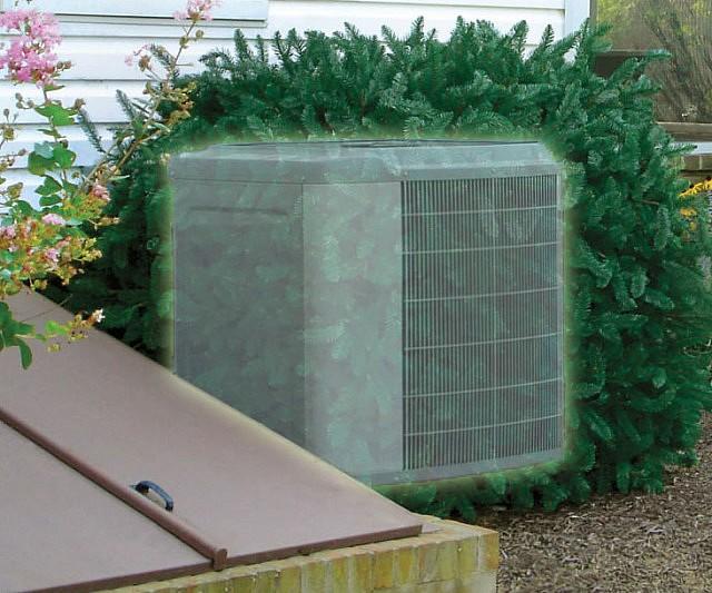Shrub Air Conditioner Concealer