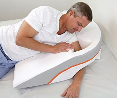 side sleep wedge pillow