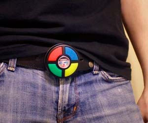 Playable Simon Belt Buckle